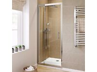 Shower Pivot Door 780-800mm New and unused; 6mm safety Glass door