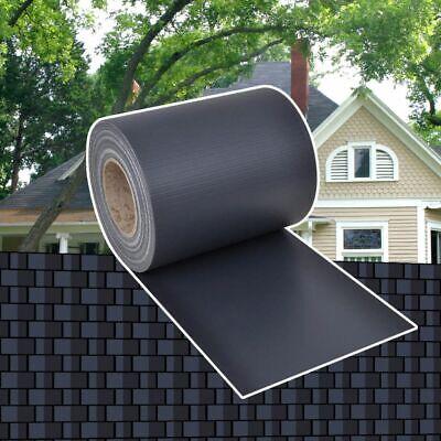 vidaXL Privacy Fence Weave Roll PVC Dark Grey 70x0.19m Porch Blind Windbreak