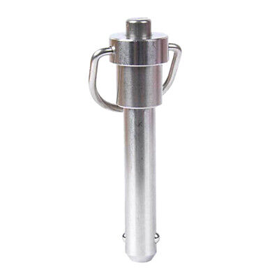 Stainless Steel Ball Lock Quick Release Pin With Ring Handle Diameter 6mm