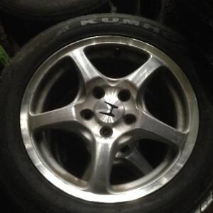4 pneus d'été 16 pouces 205/55r16