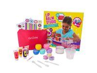 GirlZone - Make Your Own Lip Balm - Fun Makeup Set For Girls