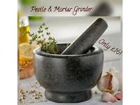 Granite Pestle & Mortar Grinders