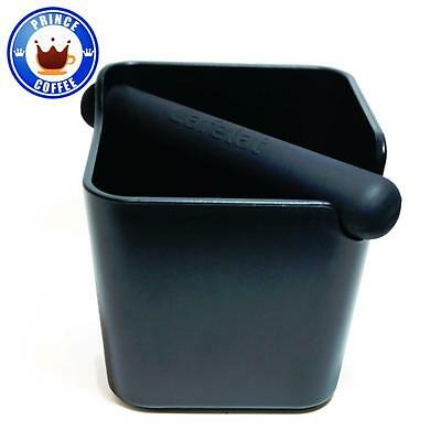 Cafelat Home Knockbox Espresso Grounds Bin Knocking Out Black New
