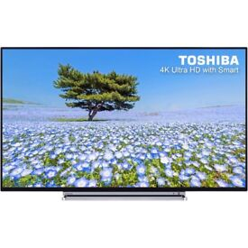 BRAND New Toshiba 49 inch Ultra HD 4K LED Smart TV with wifi, Miracast & Freesat HD & Freeview Play