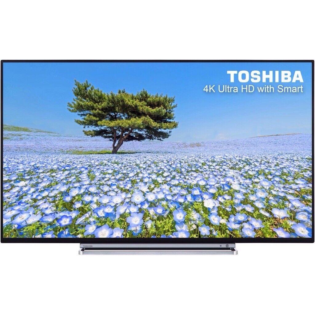 e8e50683954 BRAND New Toshiba 49 inch Ultra HD 4K LED Smart TV with wifi ...