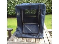 """""""Coopet""""Dog/puppy travel or home crate - folds to flat"""