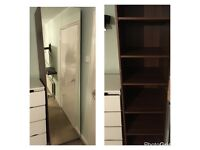 Ikea Triple glass doored wardrobe