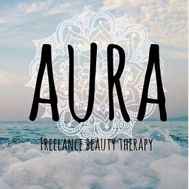 Aura beauty freelance therapist