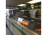 Recently refurbished Fish Shop for sale