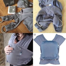Caboo baby sling carrier, only used once so brand new and still have original box. Paid £50