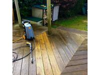Patio and deck cleaning
