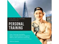 Experienced Personal Trainer In SE1 & Central London - Get In Shape For Post Lockdown!