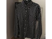 Men's polka dot shirt (sherry's)