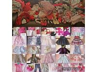Bundle x300 baby girl clothes newborn upto 3 years