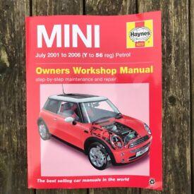 Haynes Mini 2001-2006 Workshop Manual