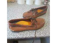Timberland deck shoes worn once 7 1/2