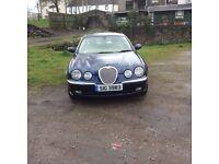 FOR SALE S TYPE JAGUAR 2003/04 2500 V6 PETROL
