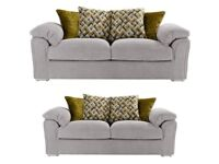 07541901770 buoyant clifton brand new 3+2 seater sofas FREE DELIVERY