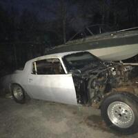 81 Camaro Z28 parting out
