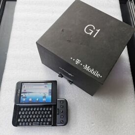 HTC DREAM T-MOBILE G1 BLACK LOCKED TO EE WITH RECEIPT