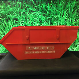Cheap Rate Skips - Quick Delivery - Sizes to suit all needs! Serving Glasgow/Lanarkshire!