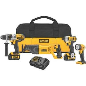 Dewalt (DCK490L2) 20V Cordless 4-tool kit (BRAND NEW) $429.99