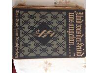 Und was der feind uns angetan :- old German book 1921