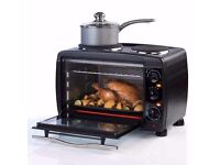 Mini Oven With Hobs - SALTER