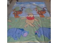 Childs Disney Store Winnie the pooh single duvet and pillowcase