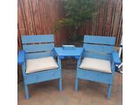 Jack and jill garden seat and summer seat