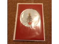 Bead christmas cards kits design Christmas tree