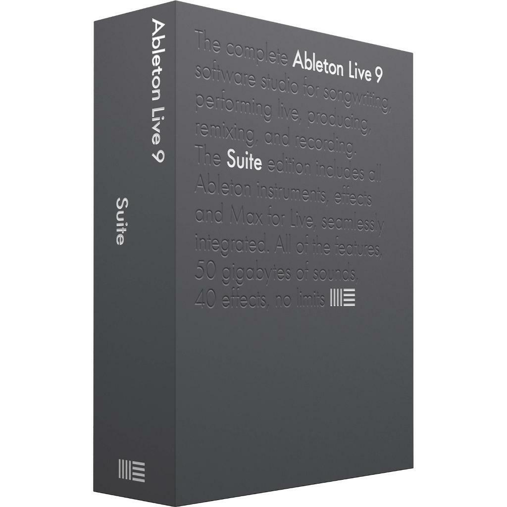 Ableton Live 9 Suite (Win + Mac OSX) Educational License Key only