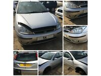 Ford Focus Hatchback 2004 1.8 Silver 5 Door front bumper all parts available