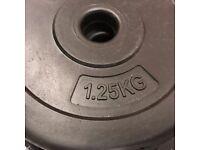 Fitness Vinyl Dumbbell – 20 kg in total
