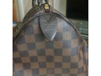 Louis Vuitton Speedy 35 Damier Ebene