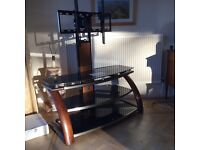 Whalen Platinum 3 in 1 TV Stand - fits up to 52 inch TV's