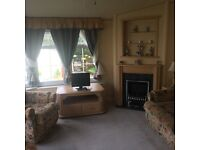 Static Caravan, Holiday Home....Lovely van.... new decking included in the sale.. Near Ayr