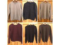 Clothes Bundle - Men's Zara Jumpers X6