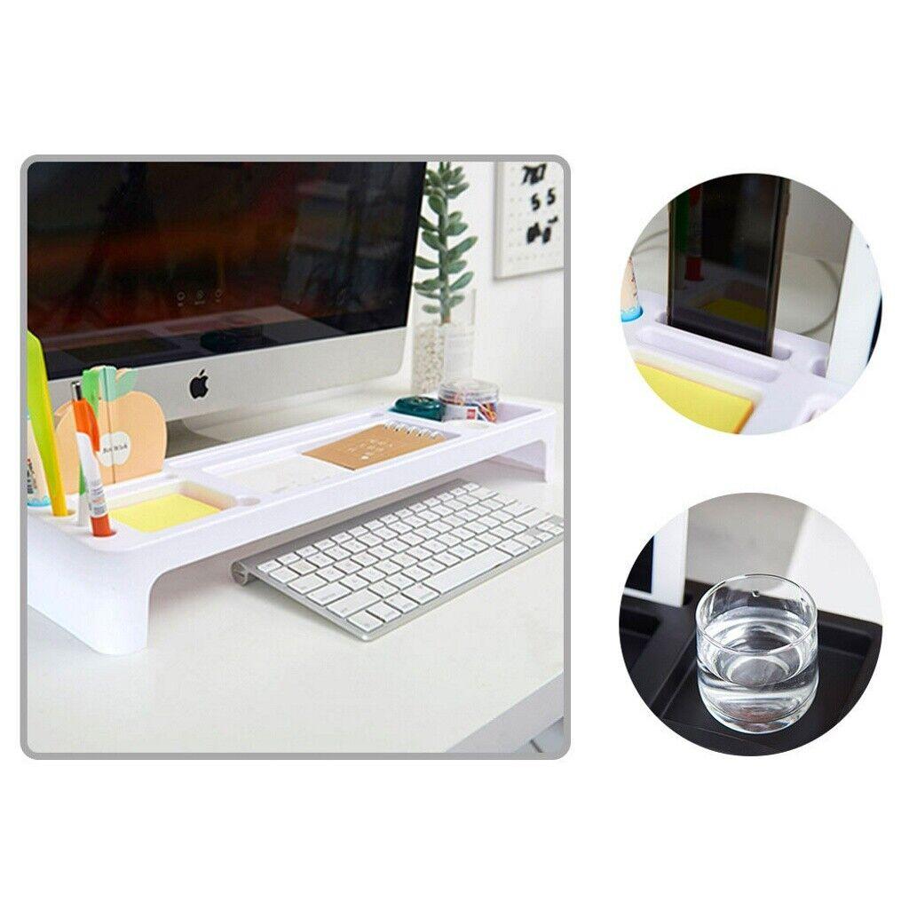 Details about Storage Rack Desk Table Stationery Holder Desktop Organizer  Computer Home Office