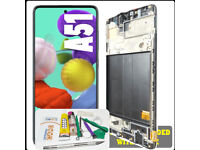 Replacement LCD With Frame For Samsung Galaxy A51 A515FDS Black with Tool Kit