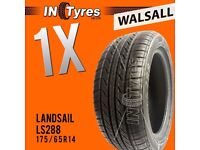 1x New 175/65R14 BUDGET Tyre Fitting is Available x1