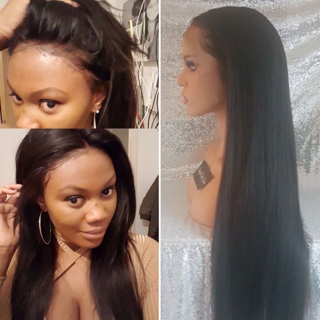 Custom Wigs Wig Making Service Lace Frontal Wig Upart Wig Half