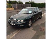 Rover 75 1.8T, 66k miles, £675.00