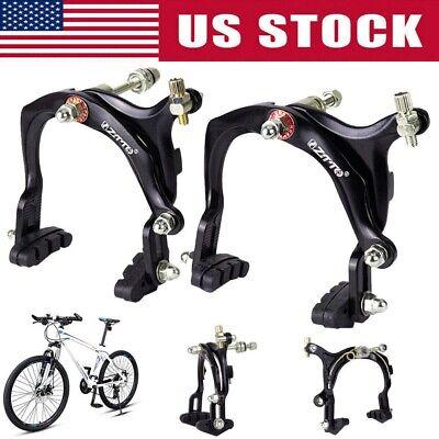 1 Pair Road Bicycle Brake Caliper Set Front +Rear Bike Side Pull Brake C Caliper