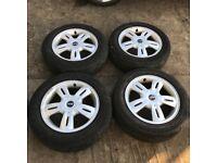 """Mini 15"""" alloy wheels - good tyres"""