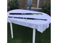 Two boat rods one never been used