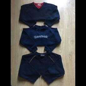 Boys jumper clothes bundle 3-4 years REEBOK, GEORGE, REBEL