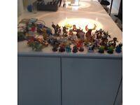 Collection of Skylanders