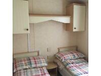 Caravan to let at Thurston Manor, Dunbar