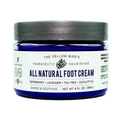 All Natural Antifungal Foot Cream. Moisturizing Organic Reli